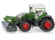 SIKU Farmer 2000 traktor Fendt 942 Vario s předním sekacím nástavcem 1:50