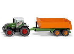Siku Farmer traktor Fendt s vyklápěcím přívěsem