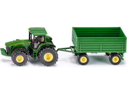 Siku Farmer Traktor John Deere s vlekem 1:50
