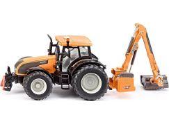 Siku Farmer Traktor se zadní sekačkou 1:32