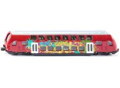 Siku Super 1791 dvouposchodový vlak