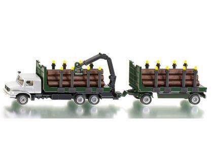 Siku Super 1804 Kamion s vlekem pro přepravu kmenů