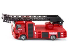 Siku Super 2114 hasiči MAN s otočným žebříkem