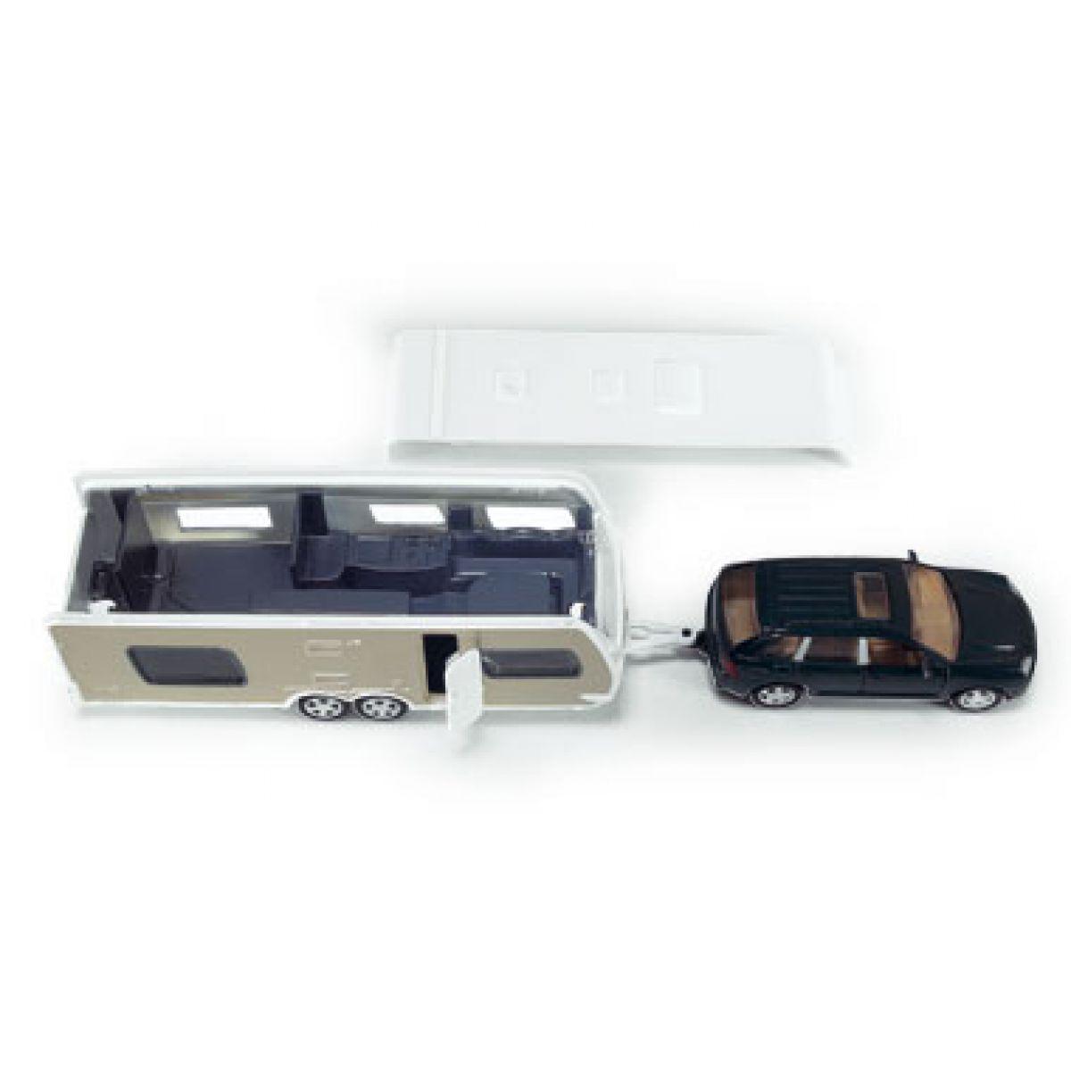 Siku Super 2542 Auto s obytným přívěsem #4
