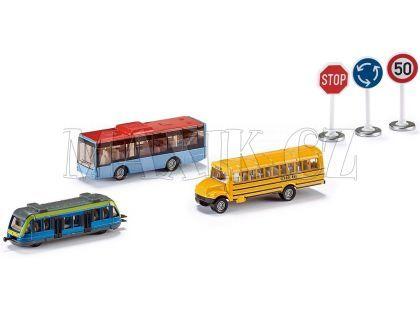 Siku Super 6303 Set městská vozidla a značky