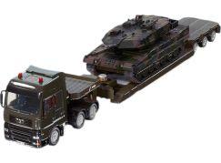 Siku Super 8612 Vojenský transportér s tankem