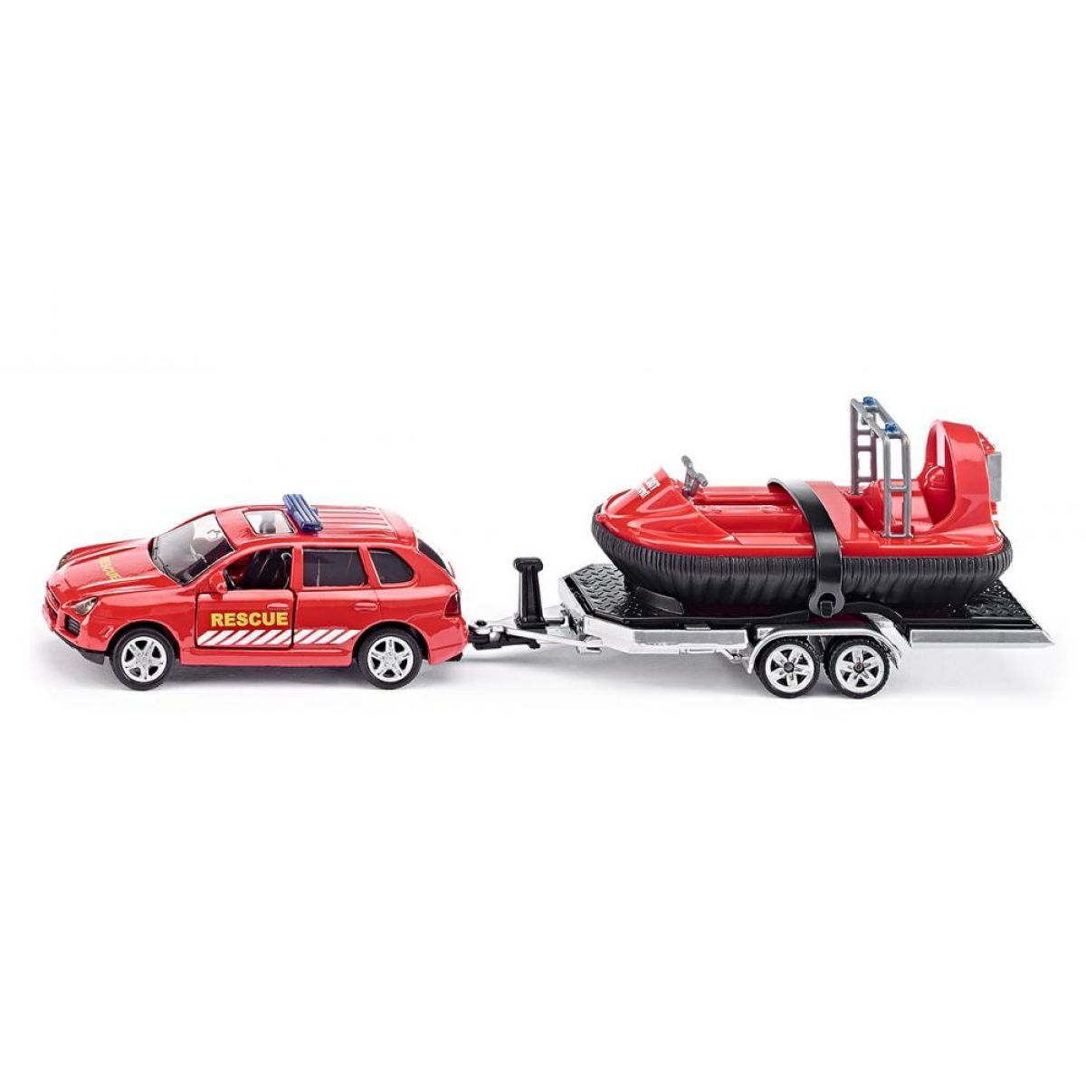 Siku Super Auto s tahačem a vodním skútrem 1:50