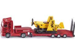 Siku Super Kamion s vlekem a sportovním letadlem 1:87