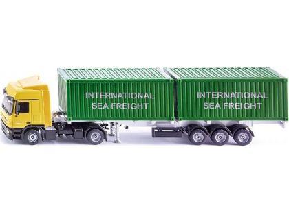 Siku Super LKW kamion se 2 kontejnery