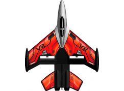 Silverit RC letadlo X-Twin Jet Červená