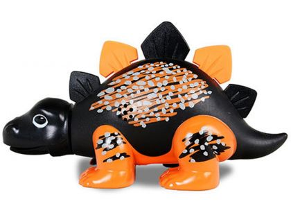 Silverlit DigiDinos Dinosaurus - Černo-oranžová