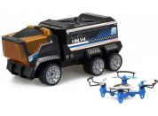 Silverlit RC auto + dron - DRONE Mission 2.4GHz