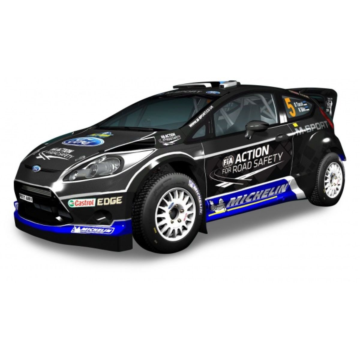 Silverlit RC Auto Ford Fiesta - M-Sport RS WRC