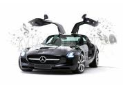 Silverlit RC Auto Mercedes-Benz - SLS AMG iPod, iPhone, iPad