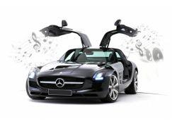 Silverlit RC Auto Mercedes-Benz - SLS AMG iPod, iPhone, iPad