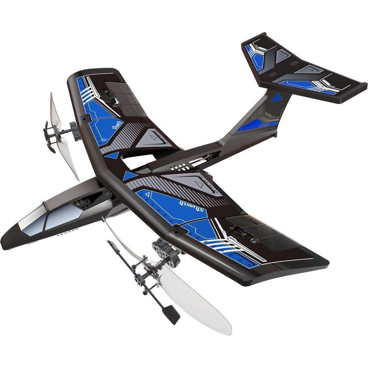 Silverlit RC Mini V-Jet Letadlo - Modrá