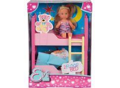 Simba 2 panenky Evičky s palandou a příslušenstvím