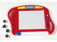 Simba A&F Magická magnetická tabulka červená