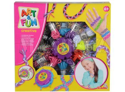 Simba Art&Fun Výroba náramků