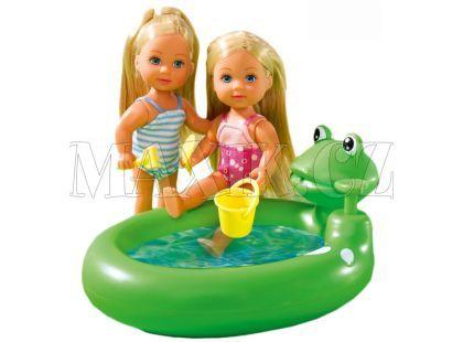 Simba Dvě Evičky s bazénem