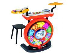 Simba Elektronické bubny se stoličkou a MP3 vstup