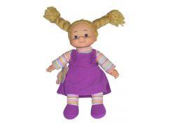 Simba Látková panenka Cheeky 38cm - Vlasy hnědé zapletené