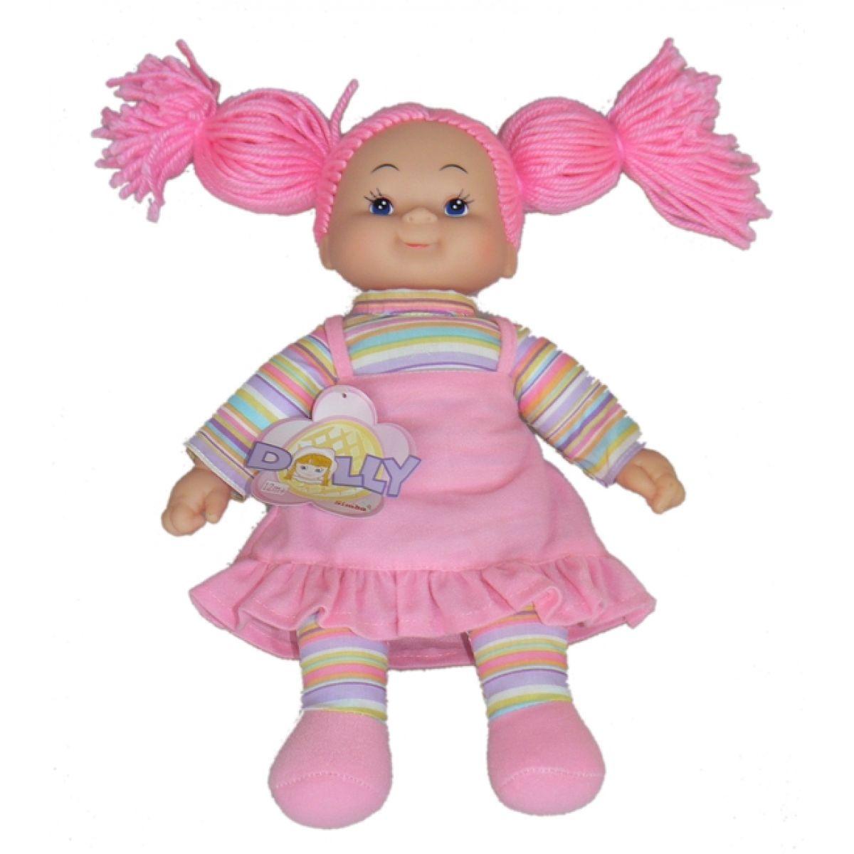 Simba Látková panenka Cheeky 38cm - Vlasy růžové nezapletené
