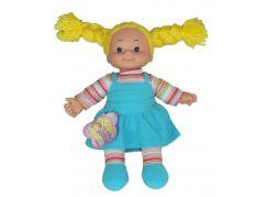 Simba Látková panenka Cheeky 38cm - Vlasy žluté zapletené
