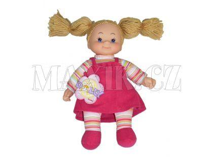 Simba Látková panenka Cheeky 38cm - Vlasy hnědé nezapletené