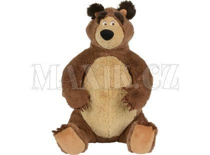 Simba Máša a medvěd Plyšový Medvěd 50cm sedící