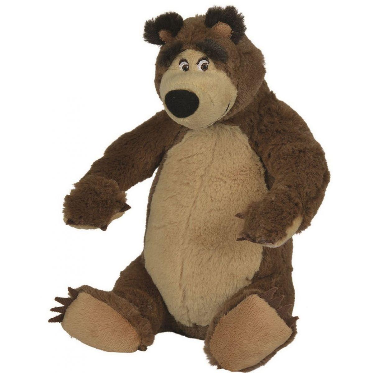 Simba Máša a medvěd Plyšový Medvěd 25cm