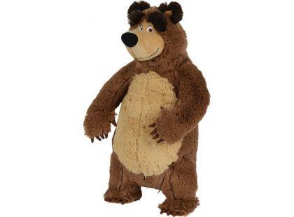 Simba Máša a medvěd Plyšový Medvěd 38cm stojící