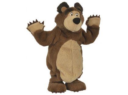 Simba Máša a medvěd Plyšový Tančící medvěd 35cm