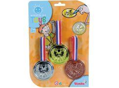 Simba Medaile 3ks - Zlatá, Stříbrná, Bronzová