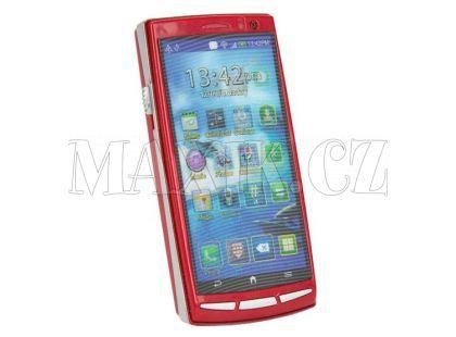 Simba Mobilní telefon s dotykovým displejem - Červená