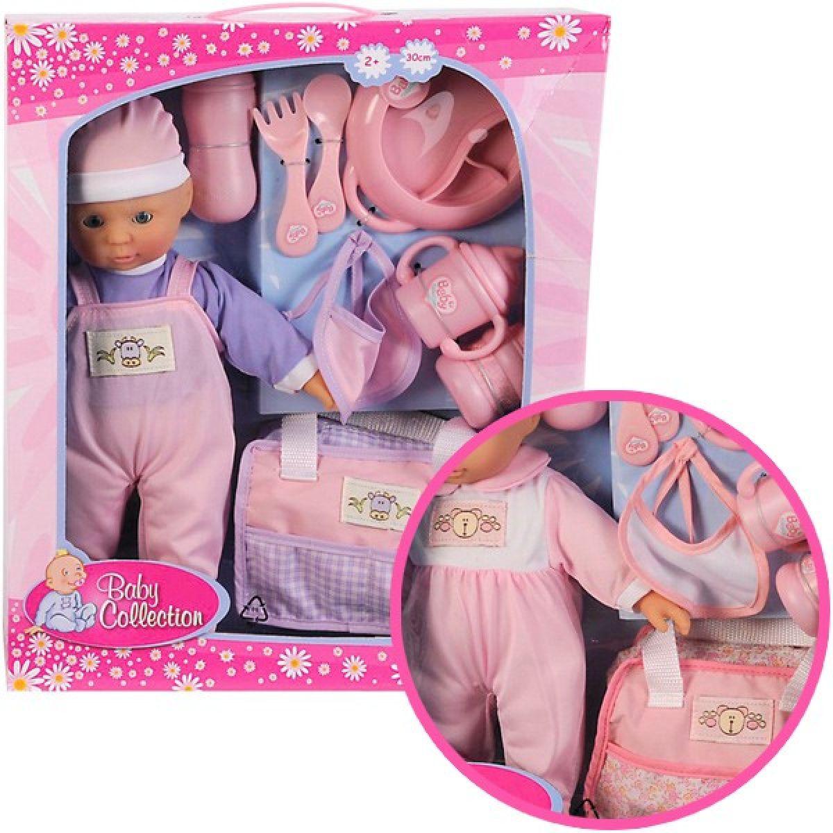 Simba Panenka 30cm Baby Collection růžová a fialová