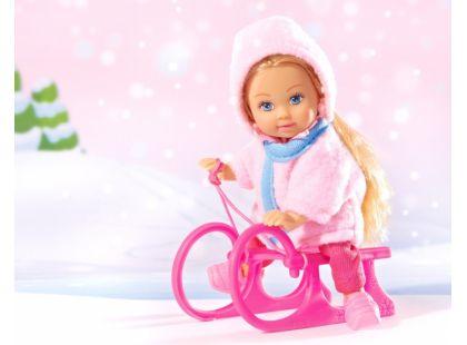 Simba Panenka Evička a sáňky - Evička v růžovém