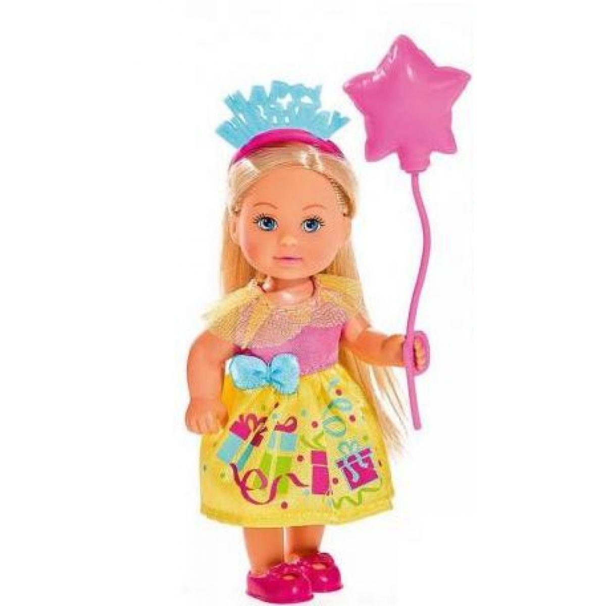 Simba Panenka Evička Happy Birthday růžový balónek