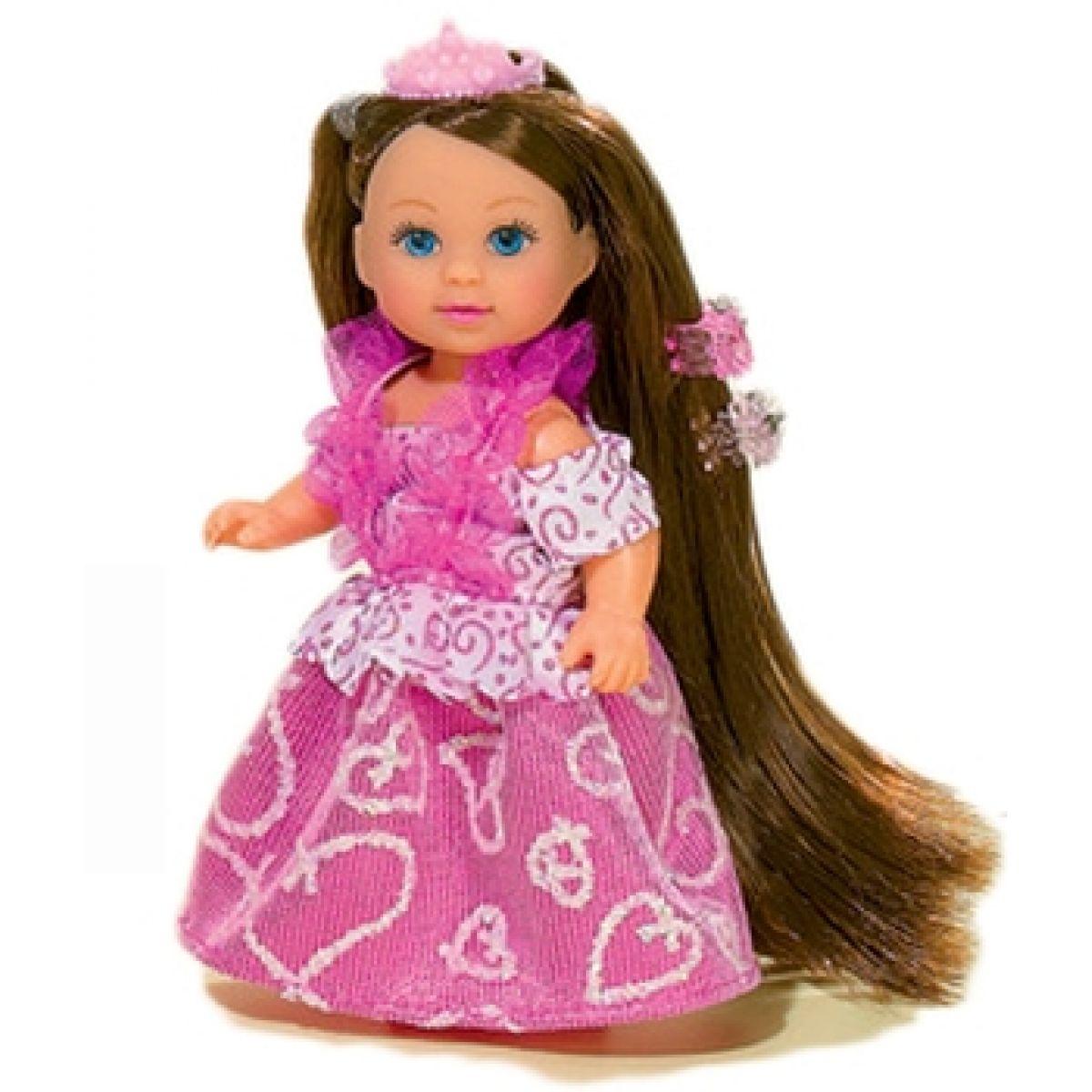 Simba Panenka Evička Rapunzel s extra dlouhými vlasy - Brunetka