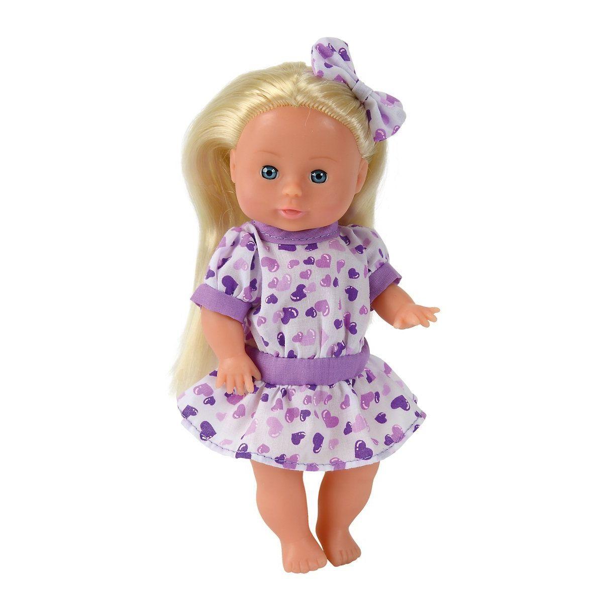 Simba Panenka Julia 21 cm fialové šaty