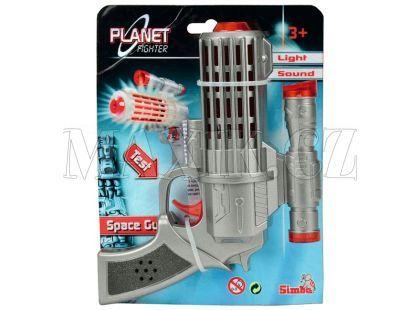 Simba Planet Fighter Laserová pistole 16cm