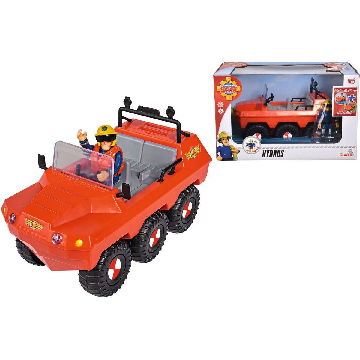 Simba Požárník Sam Auto Hydrus s figurkou