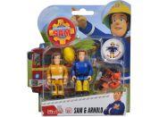 Simba Požárník Sam Figurky 2 ks s přísl. Sam a Arnold