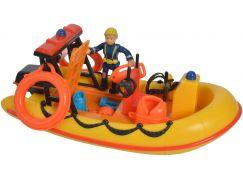 Simba Požárník Sam Záchranný člun Neptun s figurkou
