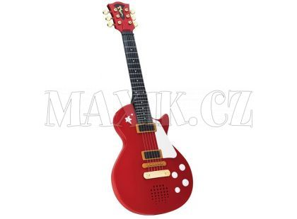 Simba Rocková kytara 56cm - Červená
