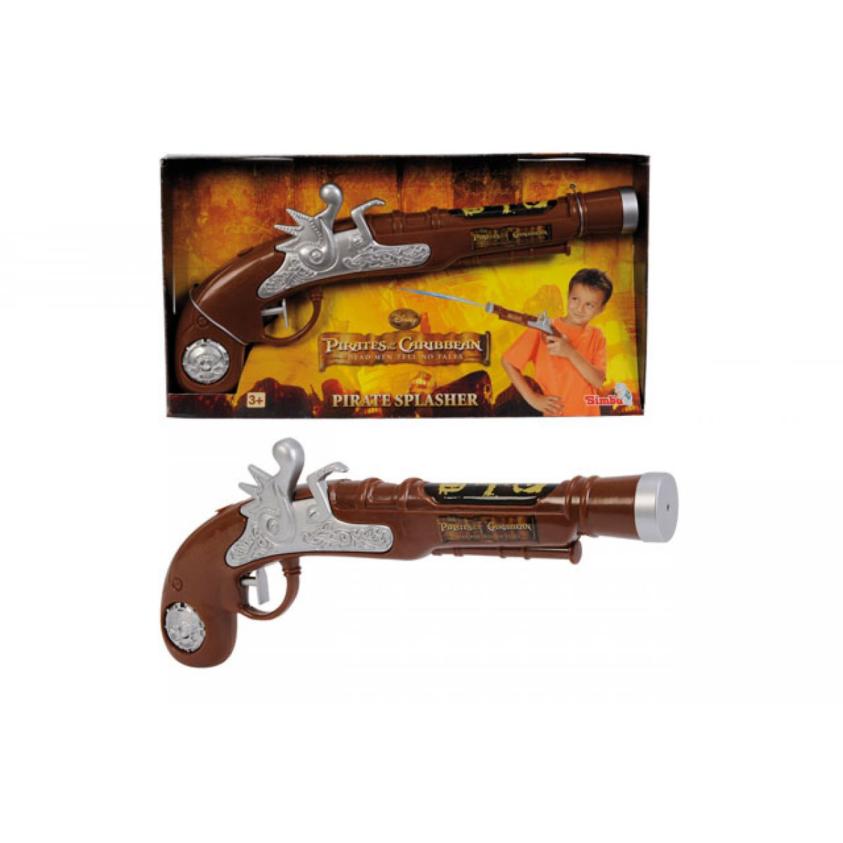 Simba Vodní pistole - Piráti z Karibiku