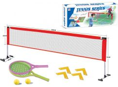 Síť se dvěma pálkami na soft tenis
