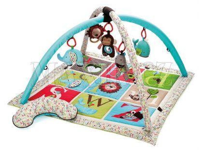 Skip Hop ABC Zoo deka z hrazdou