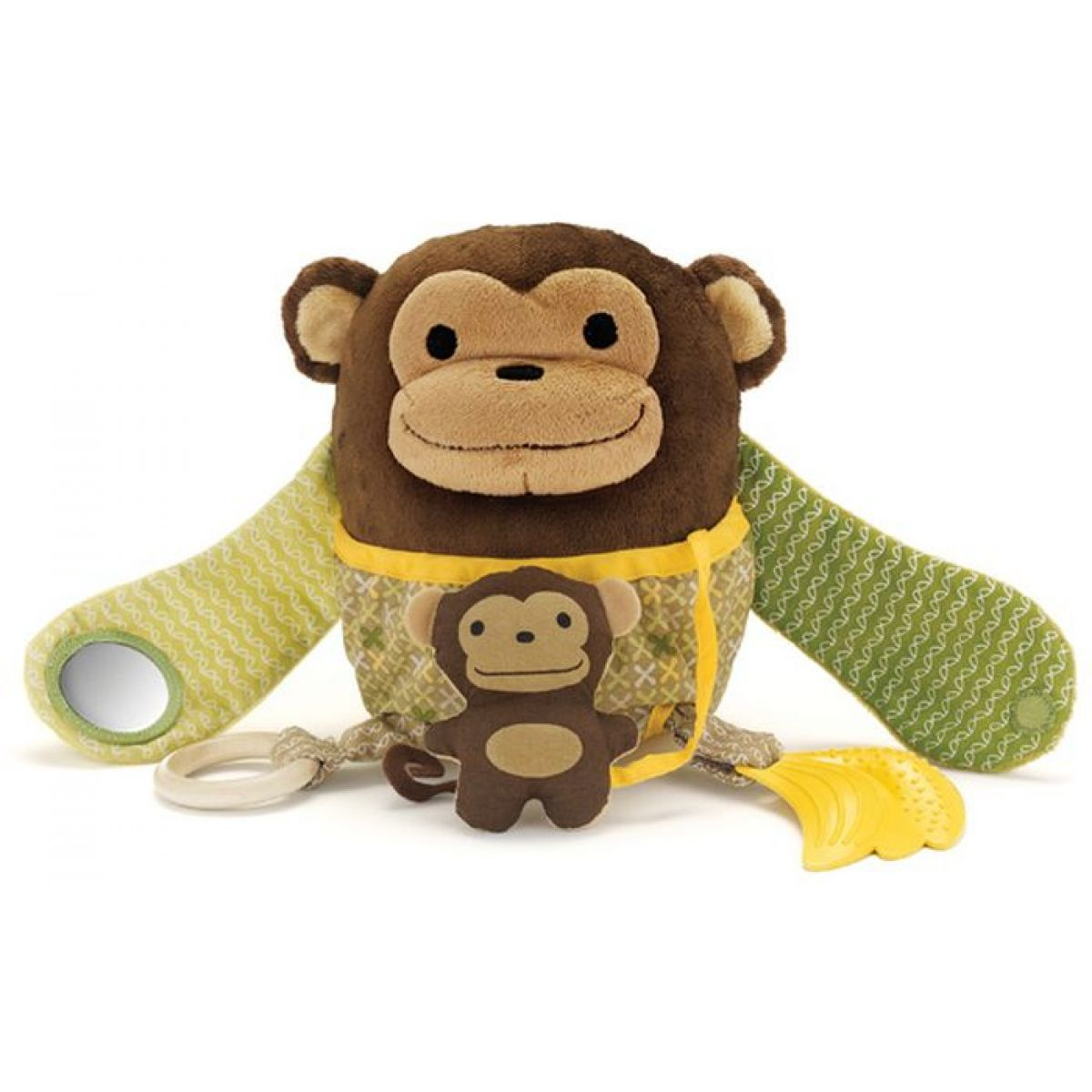 Skip Hop Opička Aktivity plyšová