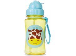 Skip Hop Zoo Hrnek s brčkem bez PVC a BPA Žirafa
